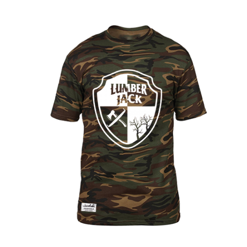 Juicelake Lumberjack Camo Tshirt Men