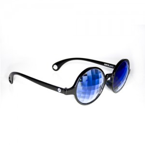 Juicelake blauwe bril - uitgeklapt 500x500